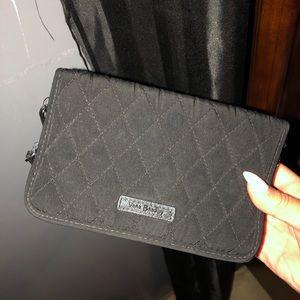 Vera Bradley wallet with iPhone phone holder